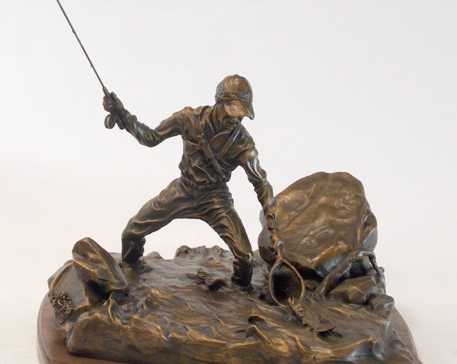 bronze sculpture by Rocky Hail