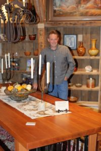 furniture artist Philip Graveson at Two Old Crows