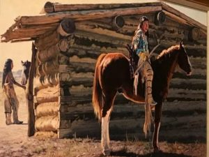 western fine art paintings by Wayne Justus